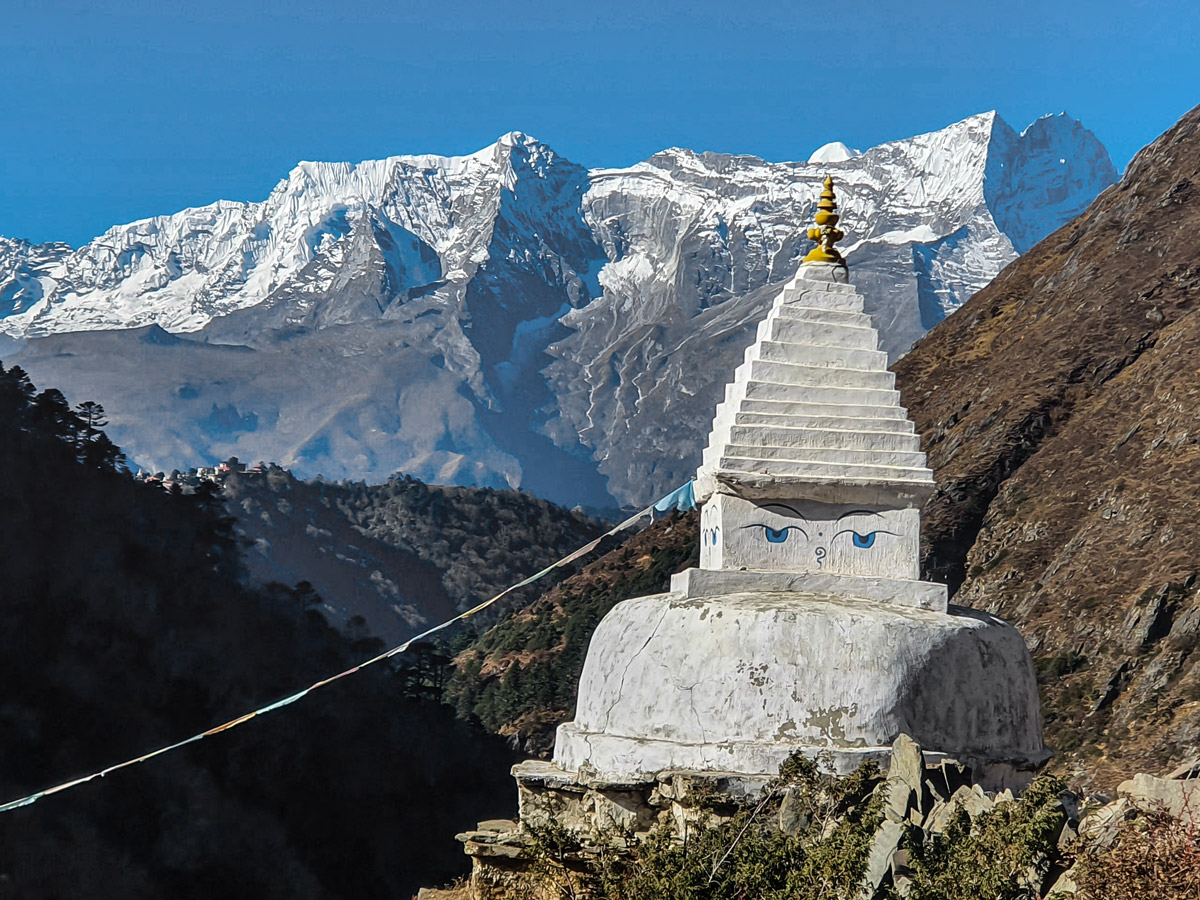 Architecture along Everest Base Camp and Gokyo Lake trek in Nepal