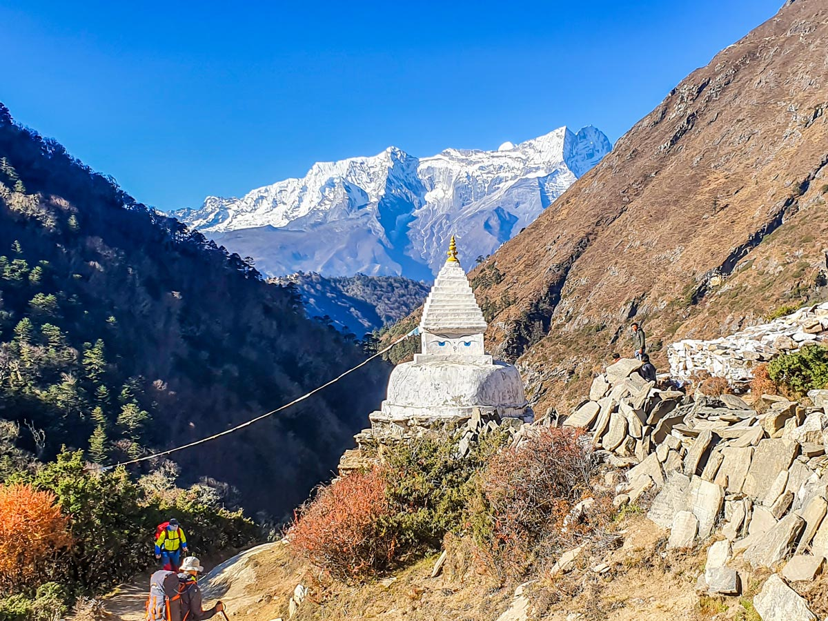 Architecture along the Everest Panorama Trek in Nepal