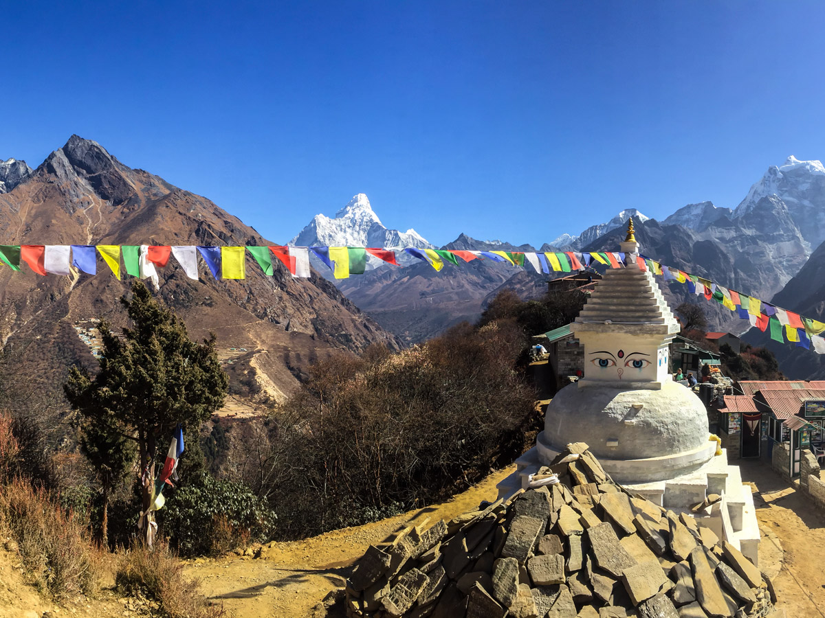 Everest peak on Everest Panorama Trek in Nepal