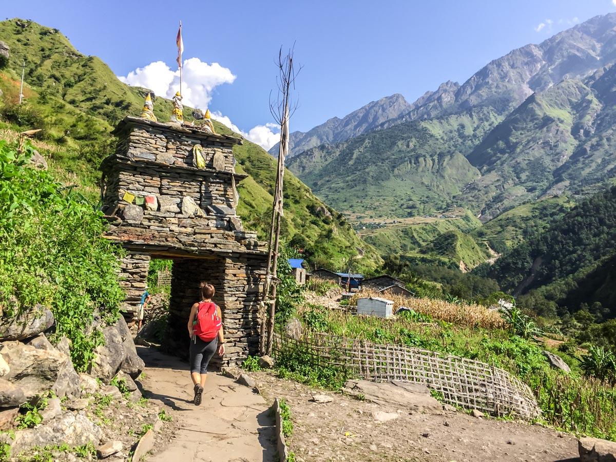 Manaslu Circuit trek in Nepal is a great hike with amazing views