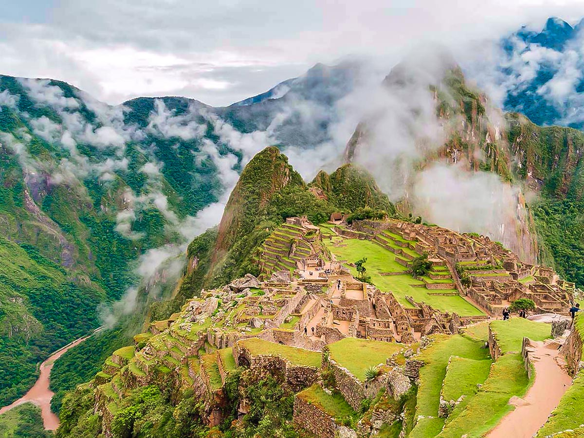Machu Picchu on Ausangate Rainbow Mountain and Machu Picchu trek in Peru