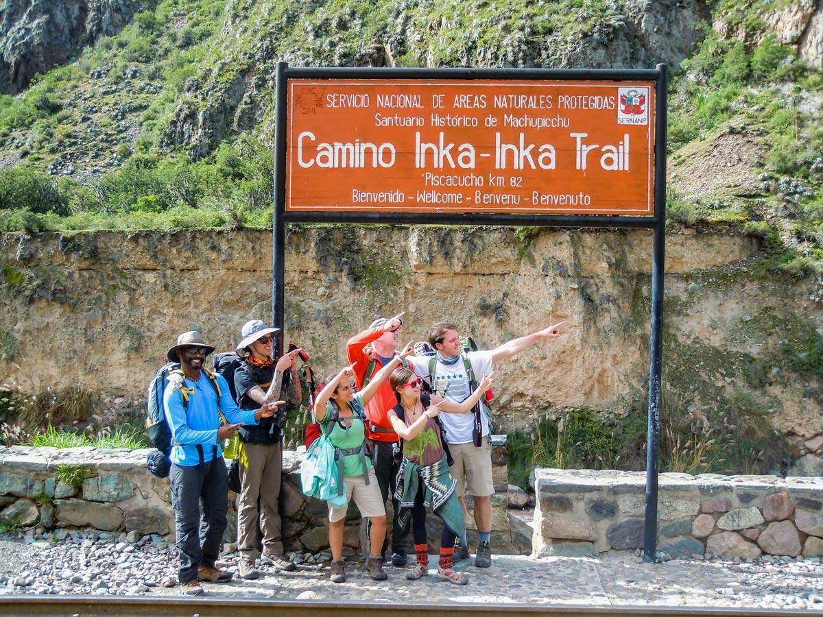 Piscacucho where the trail to Machu Picchu begins
