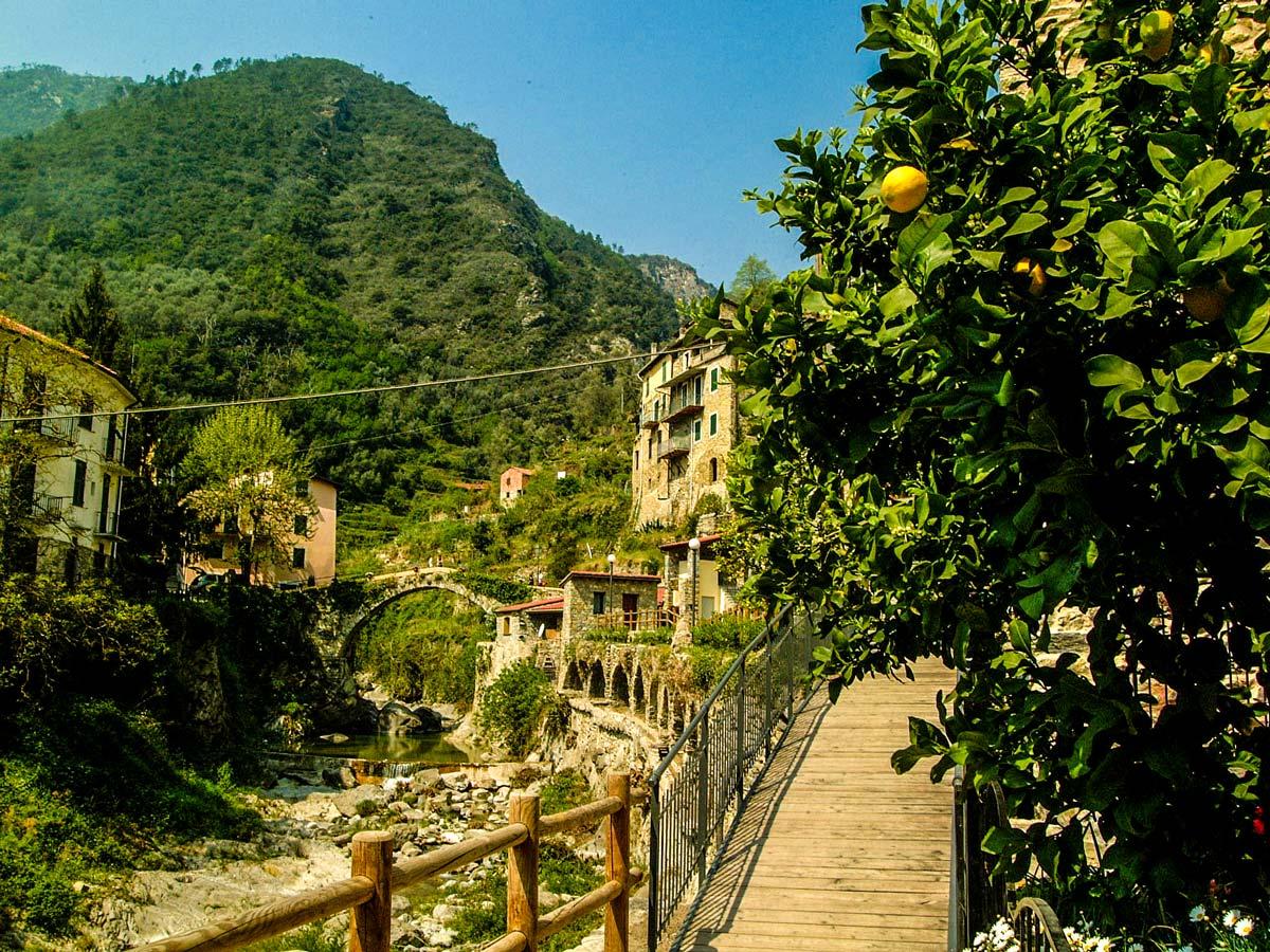 Beautiful trail of Self-guided West Liguria and Cote dAzur trek