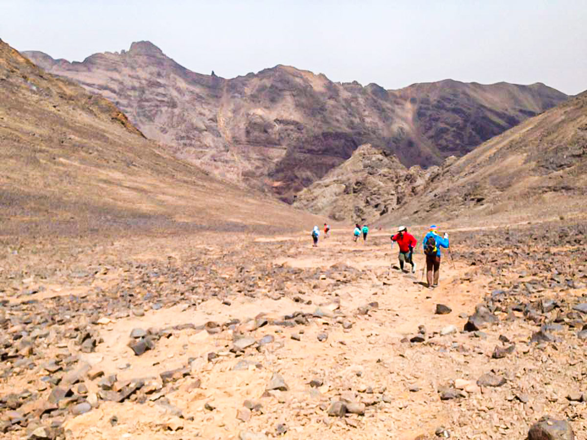 Expansive views of the desert on Atlas and Sahara Trek in Morocco