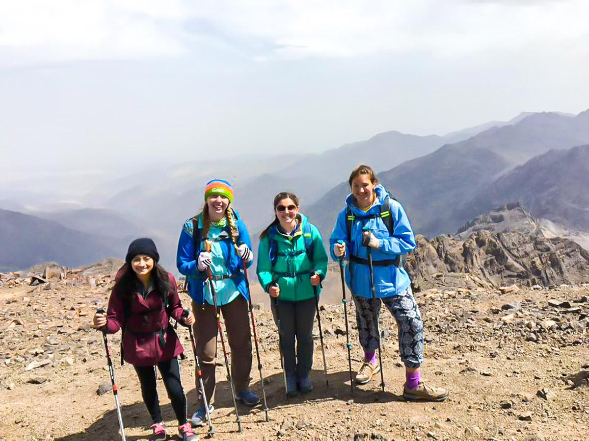 Four ladies on Atlas and Sahara Trek in Morocco