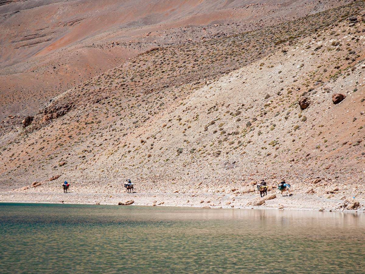 Beautiful views seen on Atlas and Sahara Trek in Morocco