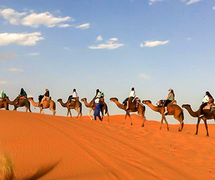 Atlas Valley Trek & Sahara Desert Tour