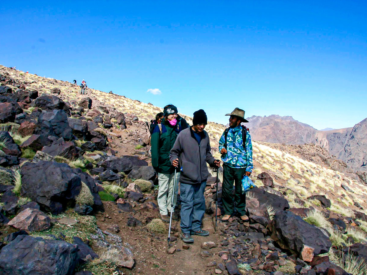 Toubkal and Desert tour in Morocco is a wonderful adventure in Atlas Mountains