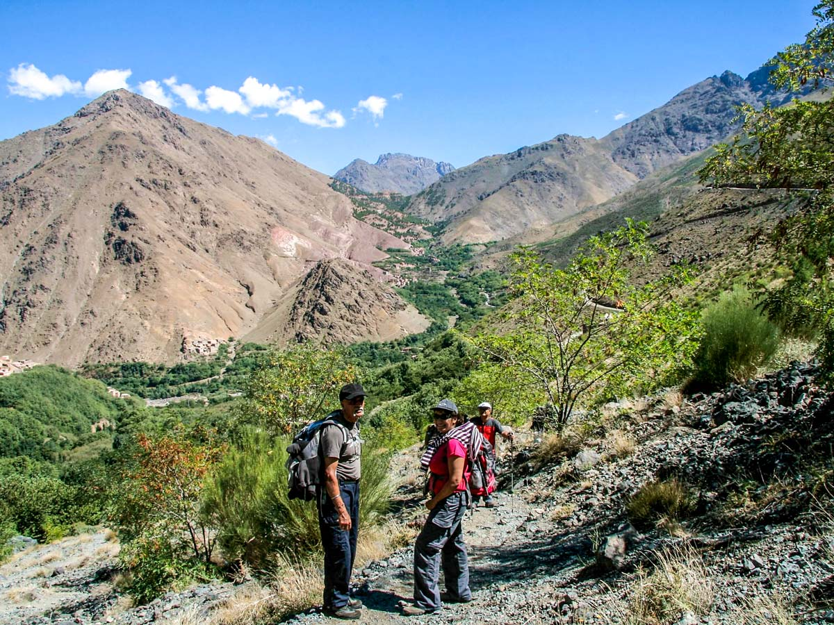 Villages Valleys and Mt Toubkal Climb tour in Morocco is a great adventure