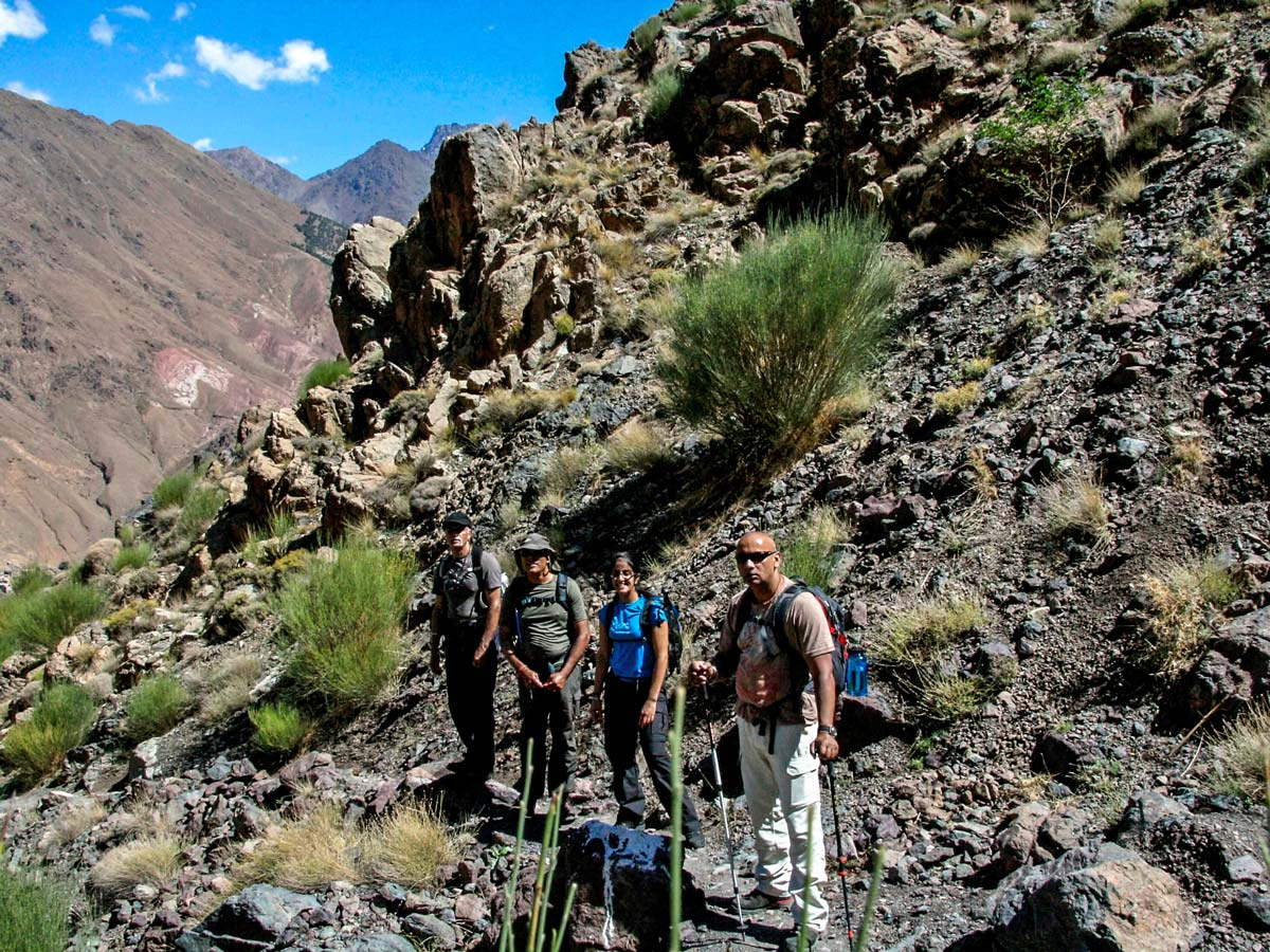 Trail of Villages Valleys and Mt Toubkal Climb tour in Morocco from Marrakech