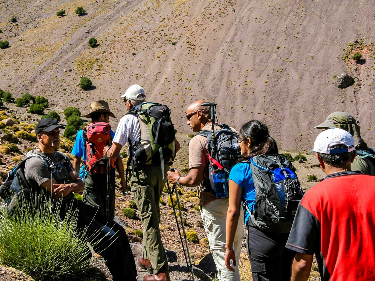 Hiking Villages Valleys and Mt Toubkal Climb tour in Morocco is a great adventure