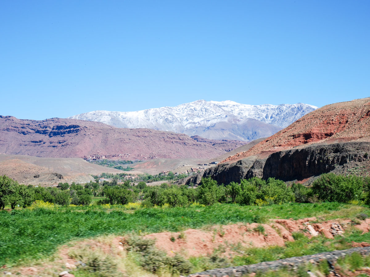 Hiking the Villages Valleys and Mt Toubkal Climb tour in Morocco is a great experience