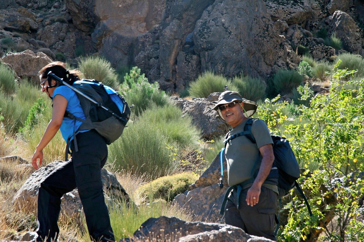 Hiking the guided trekking tour to Atlas Valley from Marrakech is a best way to learn about Moroccan nature