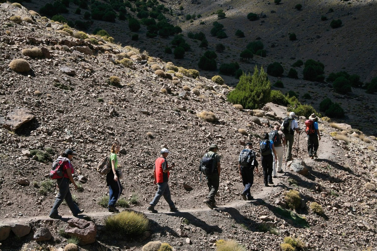 Hiking in Atlas Mountains is a dream come true for lots of hikers
