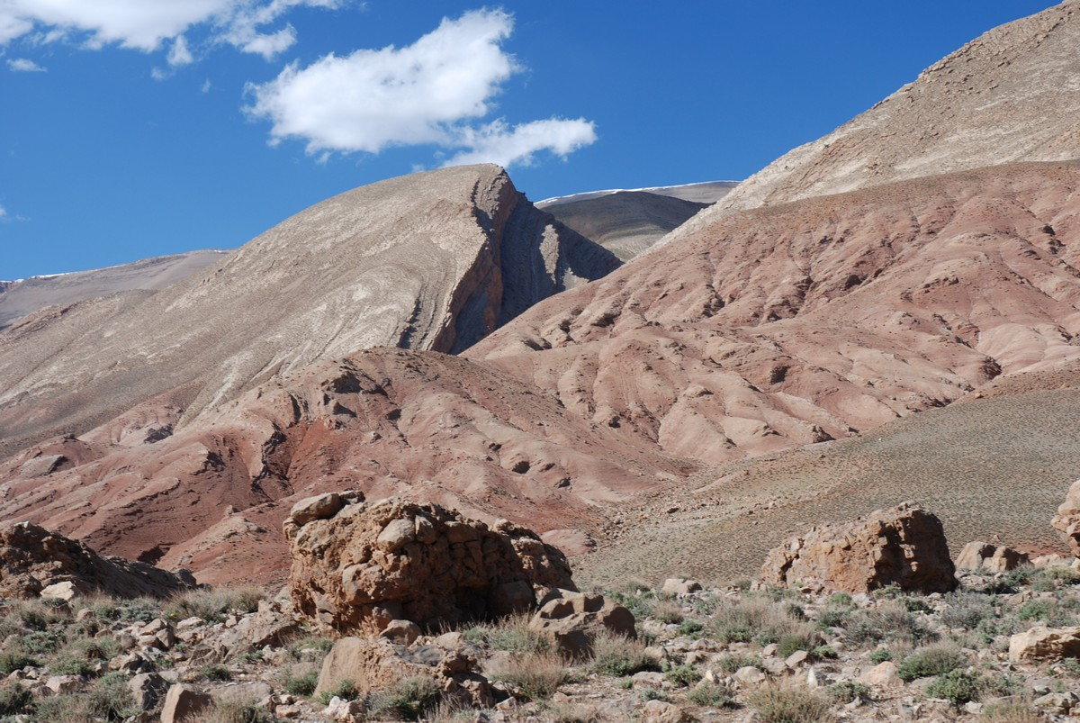 Tour to Atlas Valley from Marrakech rewards with amazing mountain views
