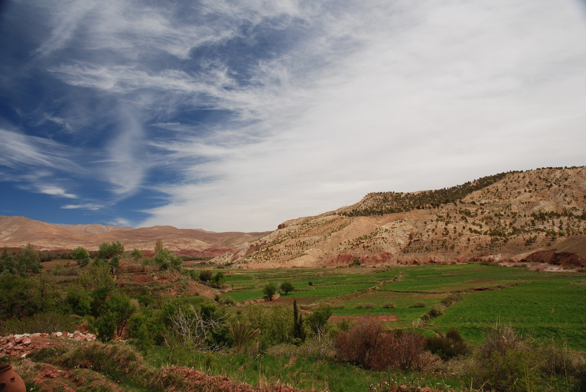 Morocco is a beautiful country with trekking routes such as Atlas Valley trek