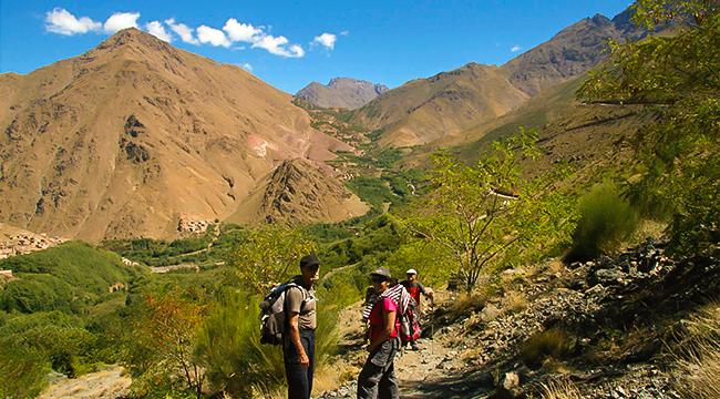 Atlas Valley Trek