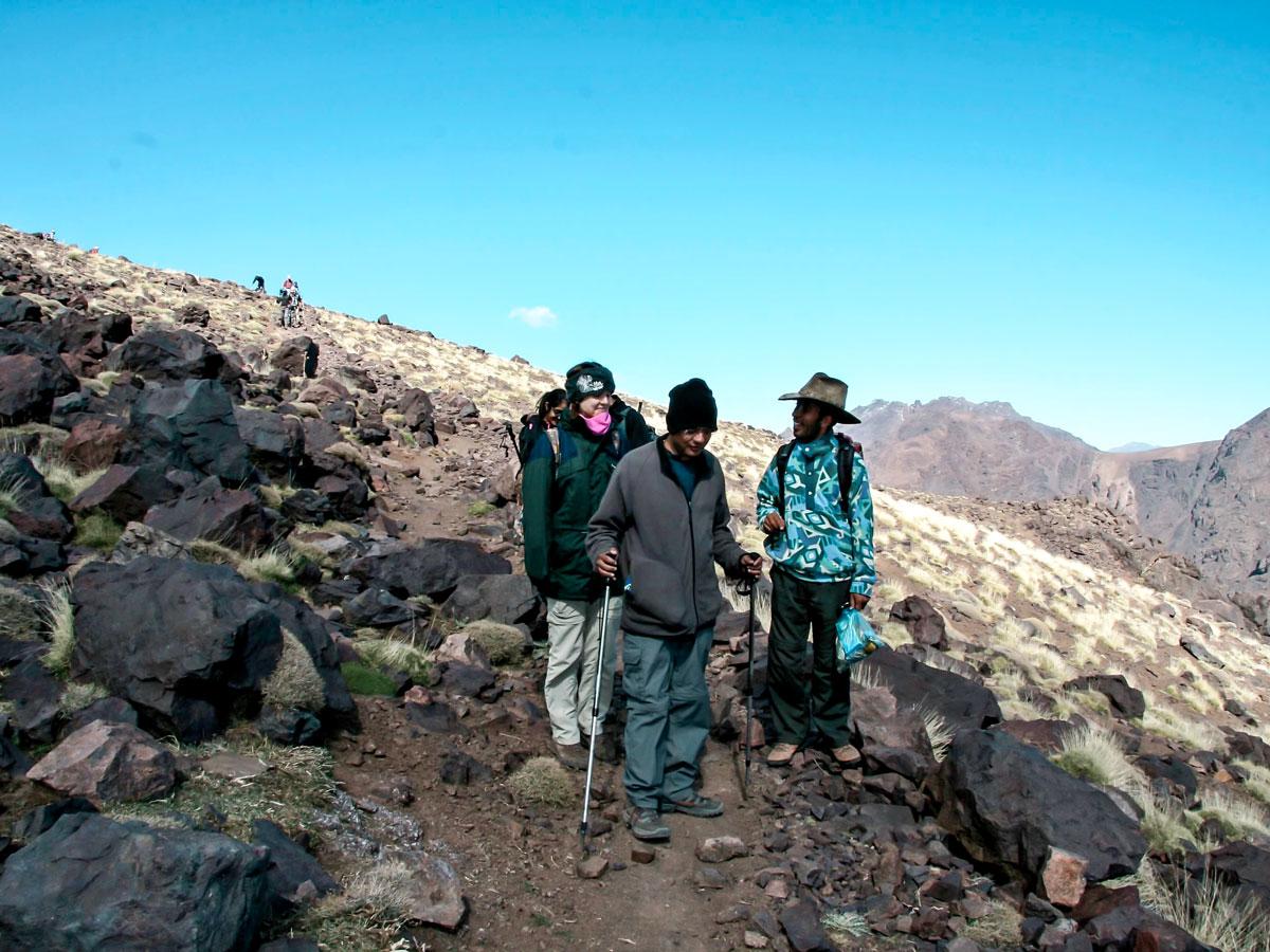 Mt Toubkal Circuit Trek in Morocco is a great adventure in Atlas Mountains