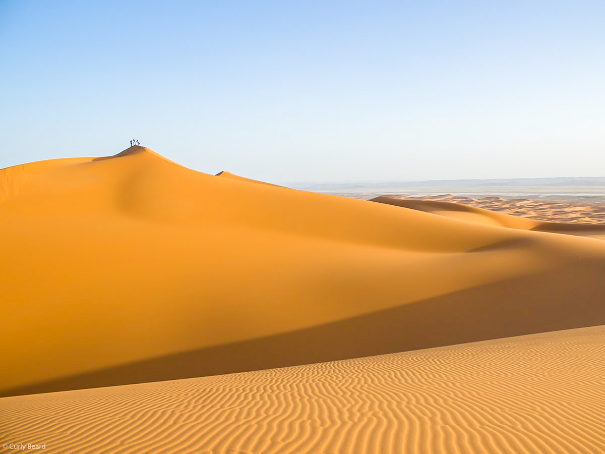 Merzouga Overland Tour in Morocco takes you to the beautiful desert