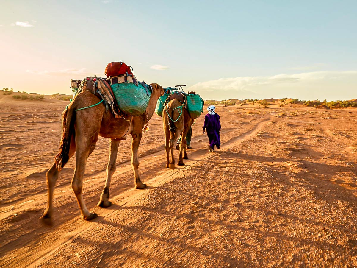 Merzouga Overland Tour in Morocco is a wonderful adventure tour