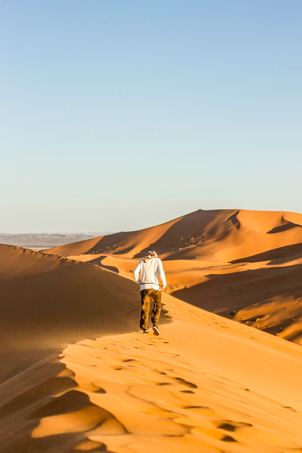 Merzouga Overland Tour in Morocco involves crossing the desert and visiting several kasbahs
