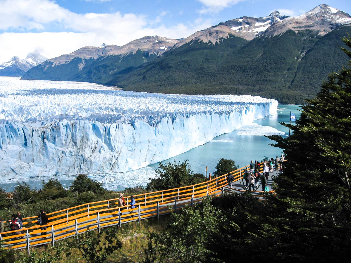 Moreno Glacier is a must see in Patagonia