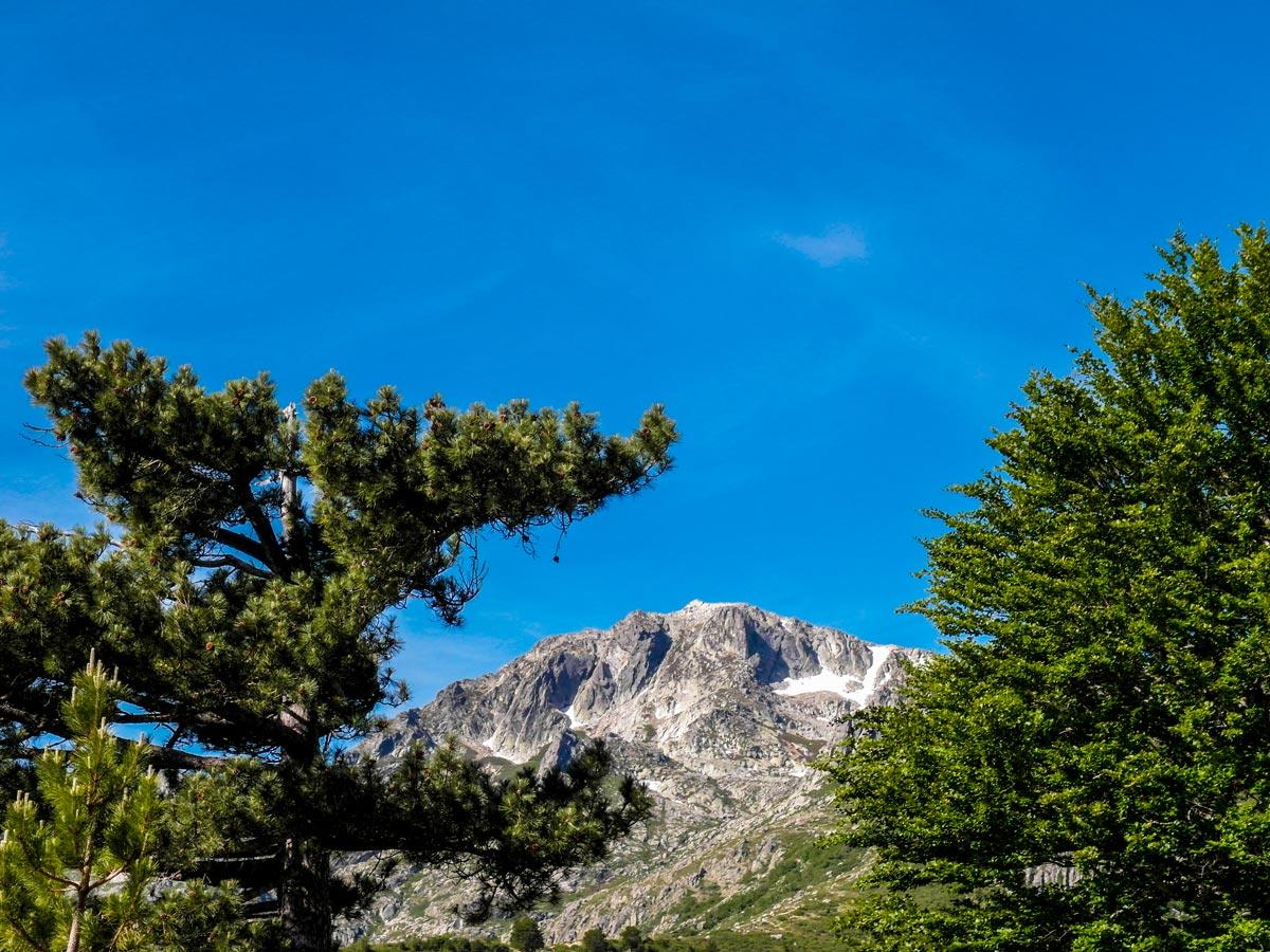Views around Vizzavona on GR20 Trek in Corsica Island