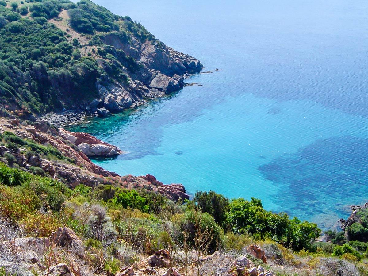 Mare a Mare North trail in Corsica rewards with amazing Mediterranean Sea views