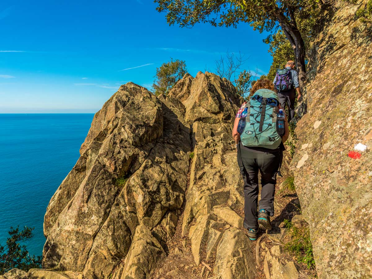 Hiking from Sestri Levante to Porto Venere on self guided tour in Cinque Terre is an amazing adventure