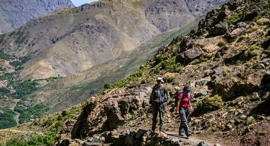Atlas Valley Trek & Sahara Desert Tour