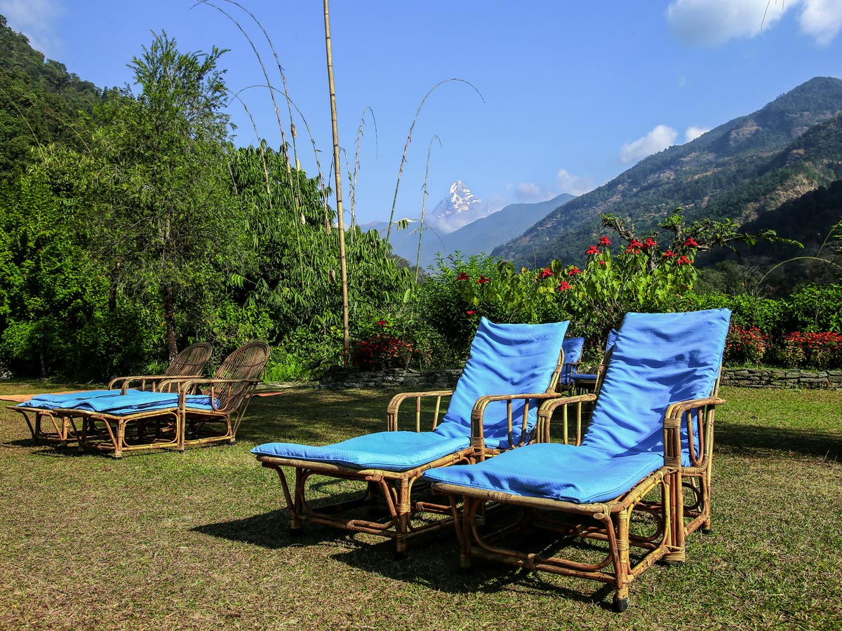 Sanctuary Lodge on Annapurna Luxury Lodges Trek in Nepal