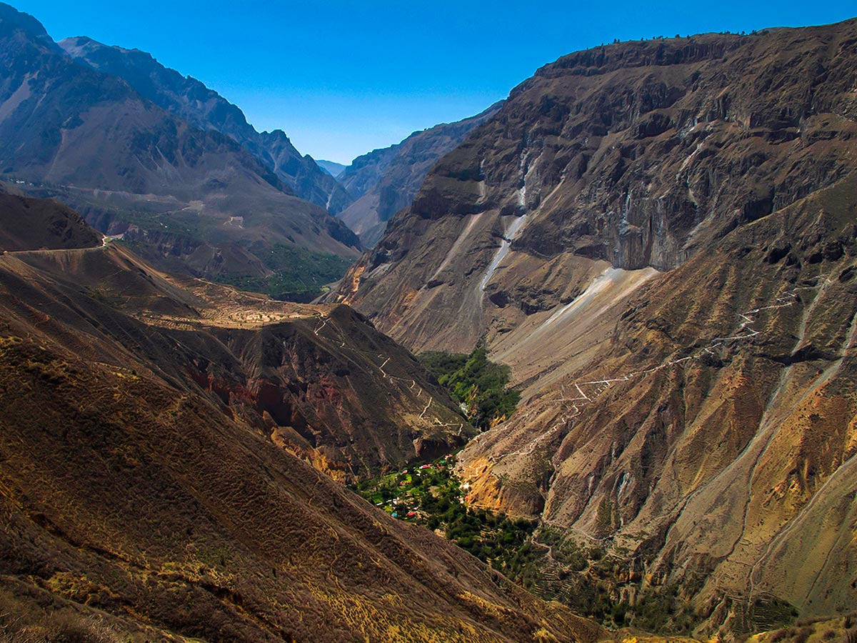 Peruvian Andes on Peru Active Tour
