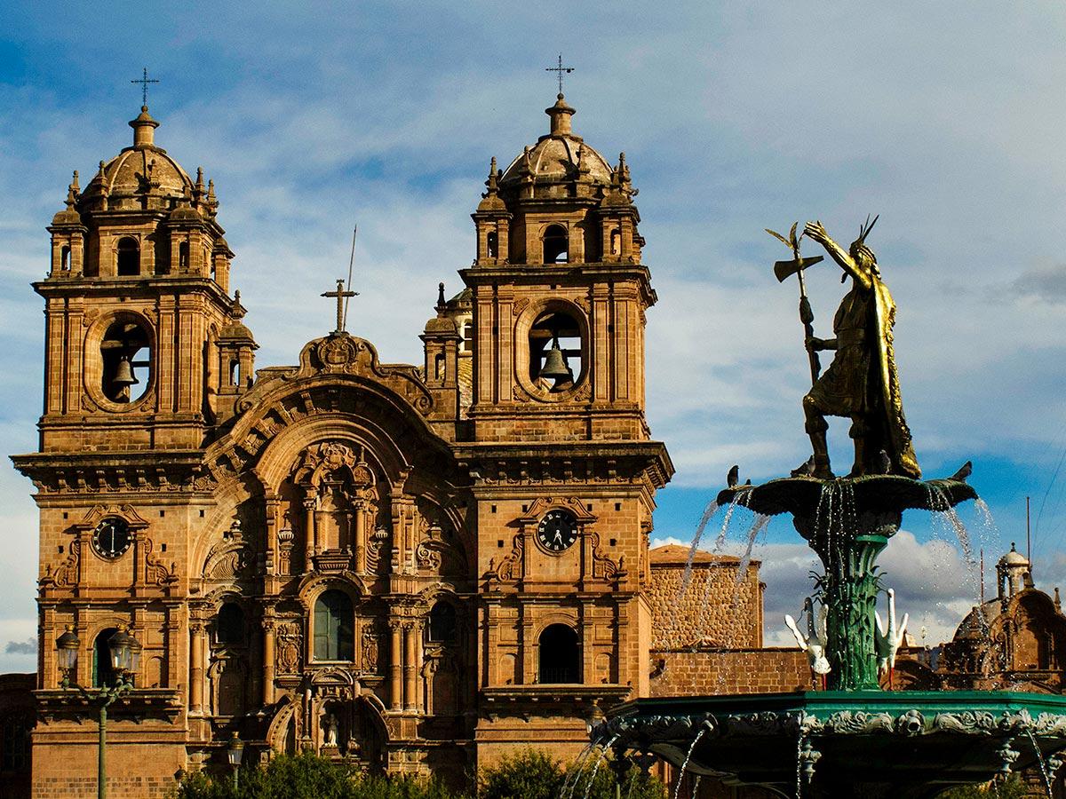Latinoamerican architecture seen on Peru Active Tour