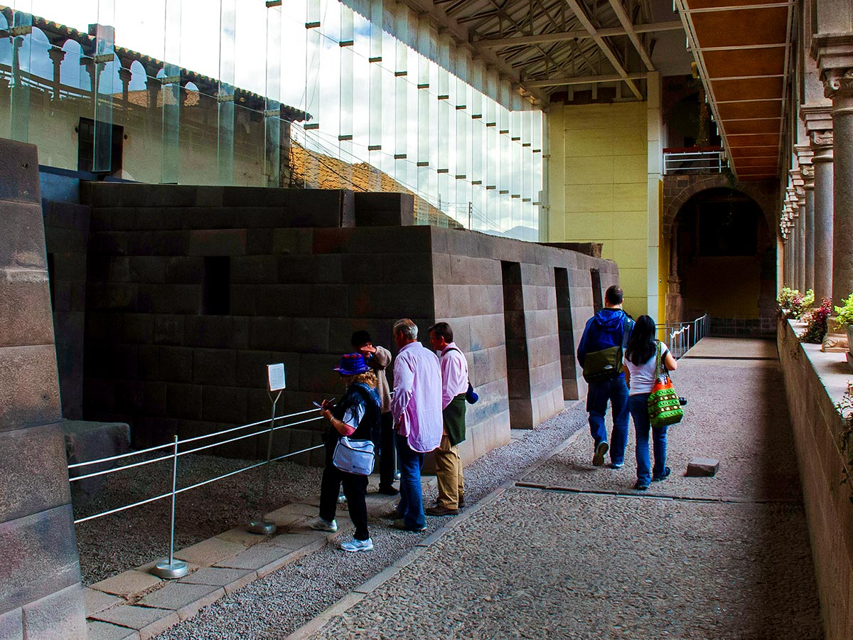 Peru Active Tour includes visiting museums and achitercture sights