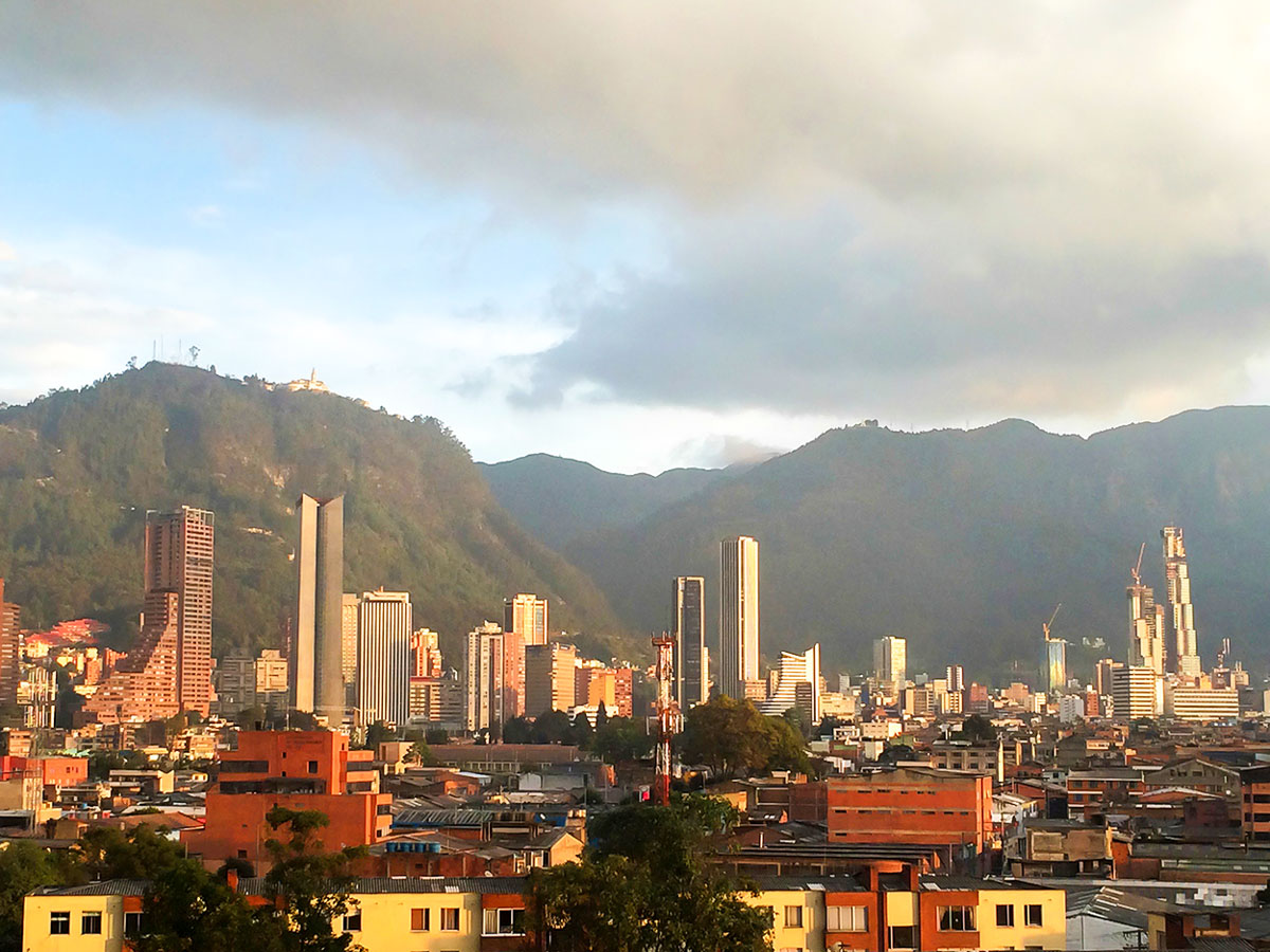 Bogota on Walking in Colombia Tour