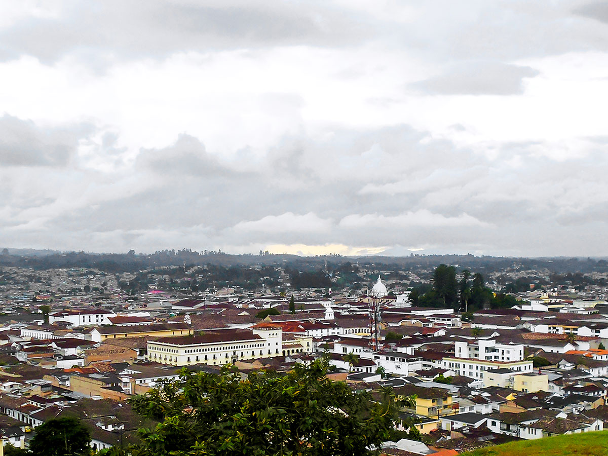 Walking in Colombia Tour includes visiting Popayan city at south of Colombia