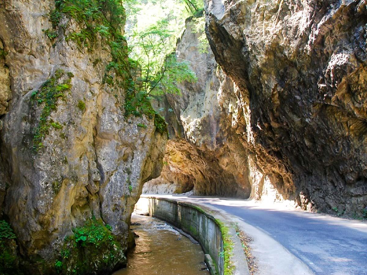 Buynovo Trigrad region Rhodope on 10th day of Grand Tour Bulgaria Trek