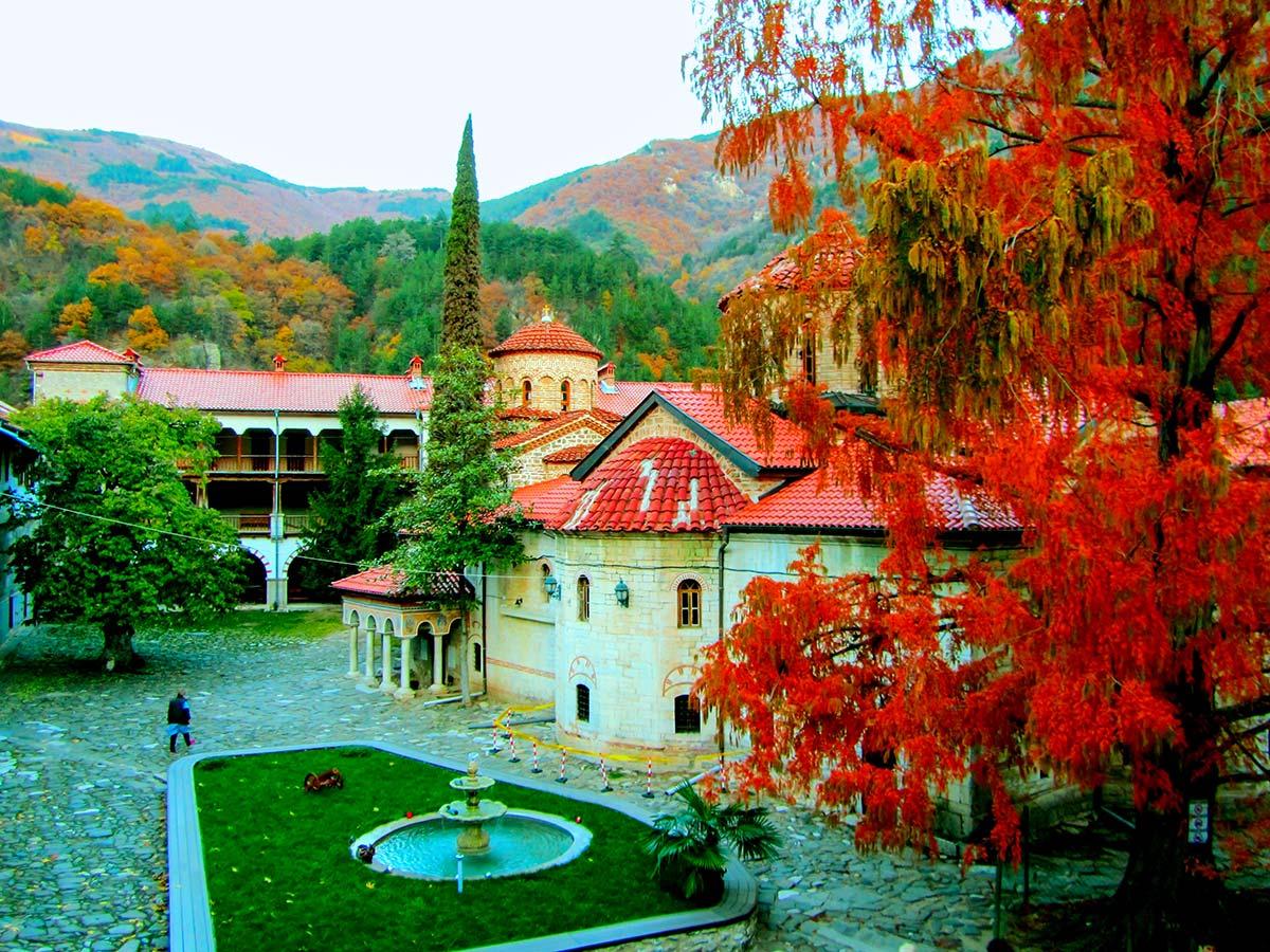 Bachkovo Monastery on day 14 of Grand Tour Bulgaria