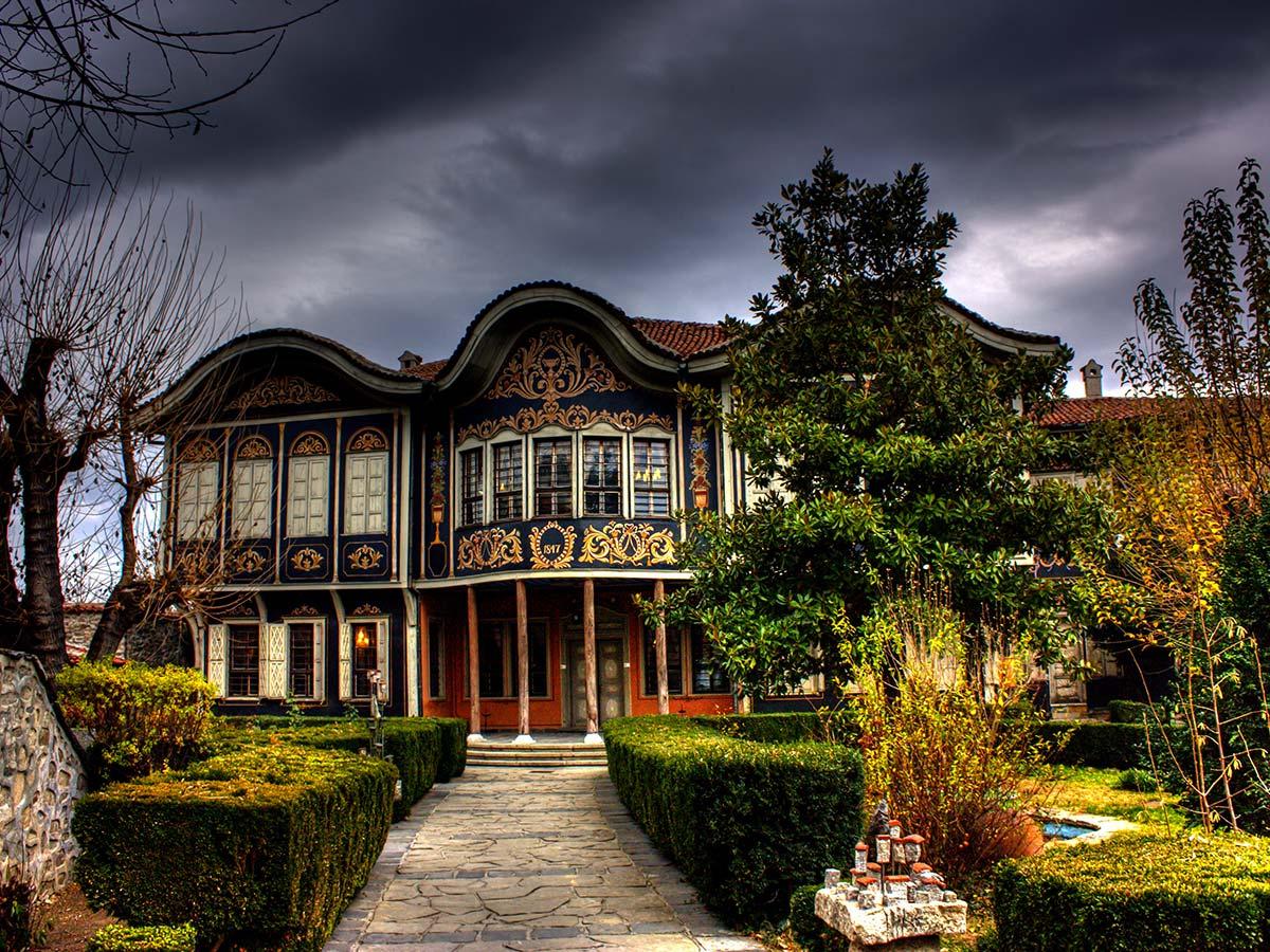 Plovdiv Old Town on day 14 of Grand Tour Bulgaria Trek