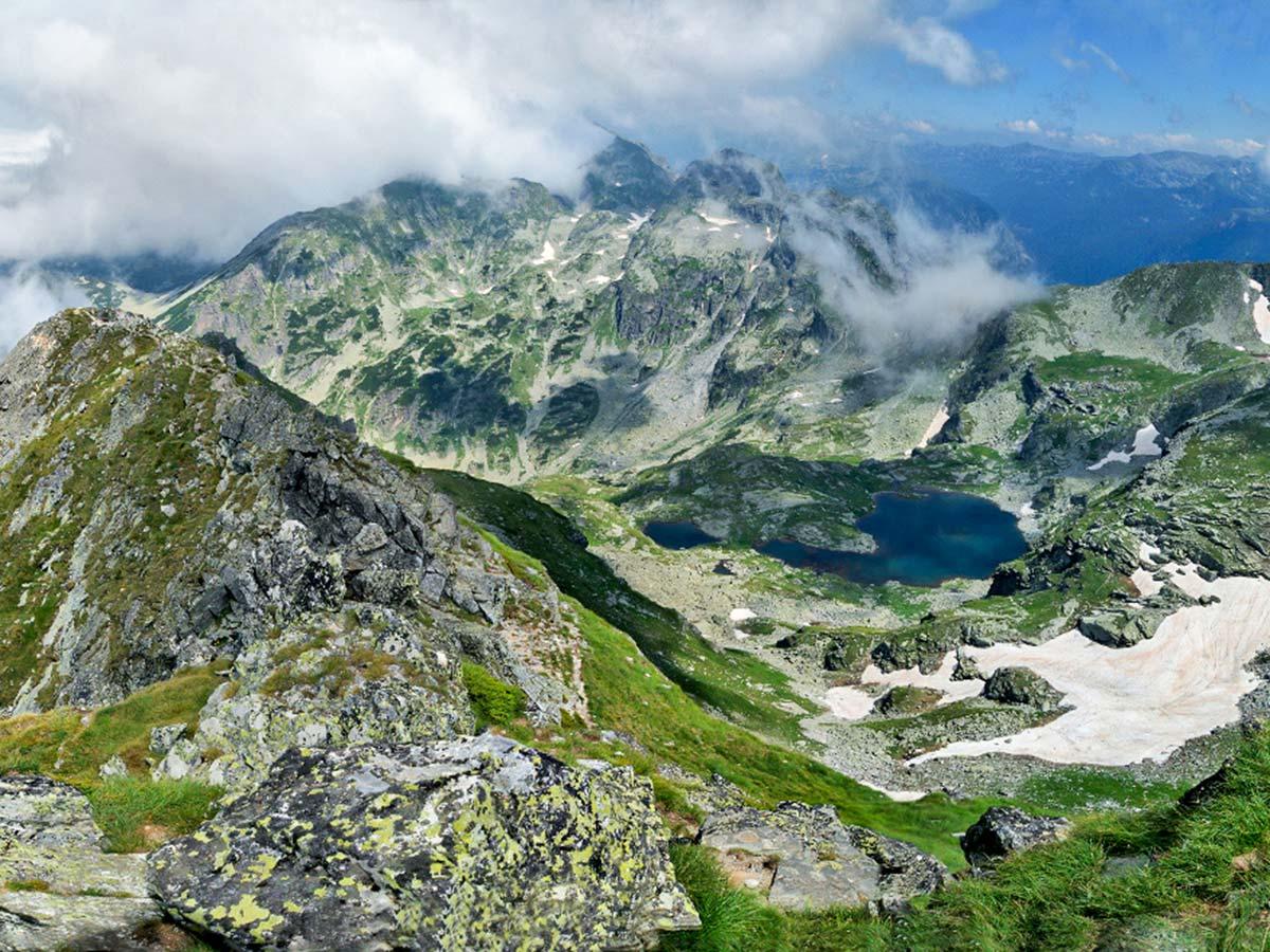 View from Malyovitsa on 3rd day of Grand Bulgaria Tour Trek