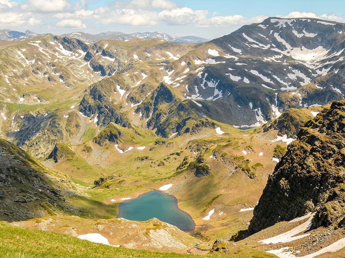 Amazing view from Razdela pass on Grand Tour Bulgaria