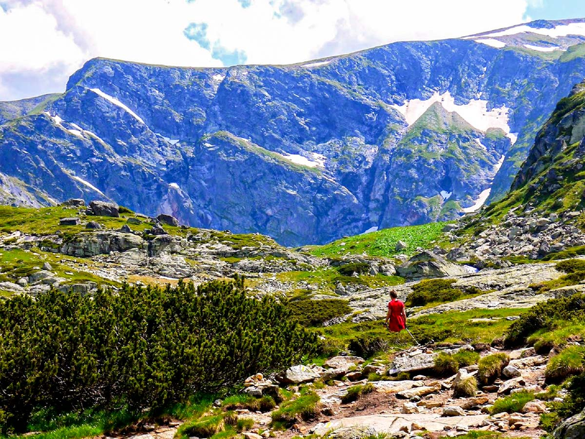 On day 4 of the Grand Tour Bulgaria trek you get to visit Rila in Seven lakes area