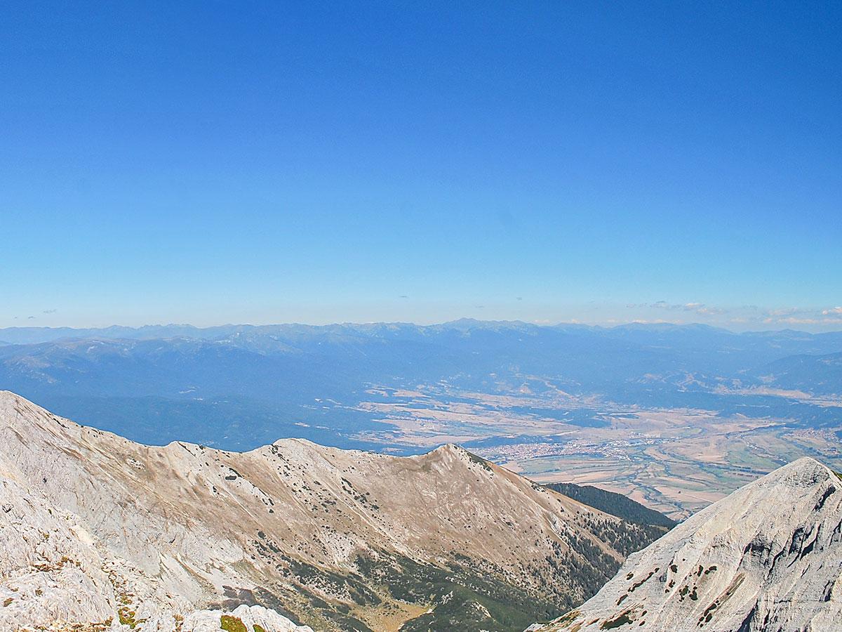 Grand Tour Bulgaria trek has beautiful views from Mount Vihren