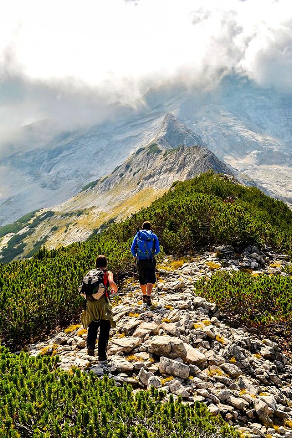 Beautiful views of Northwestern Pirin on Day 8 of Grand Tour Bulgaria trek