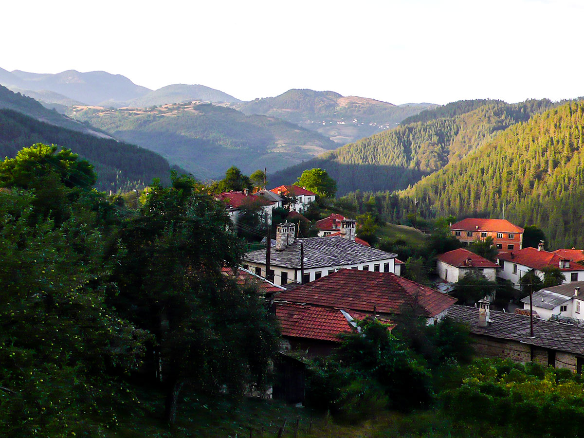 Borino village on day 4 of Rhodope Cycling Tour in Bulgaria
