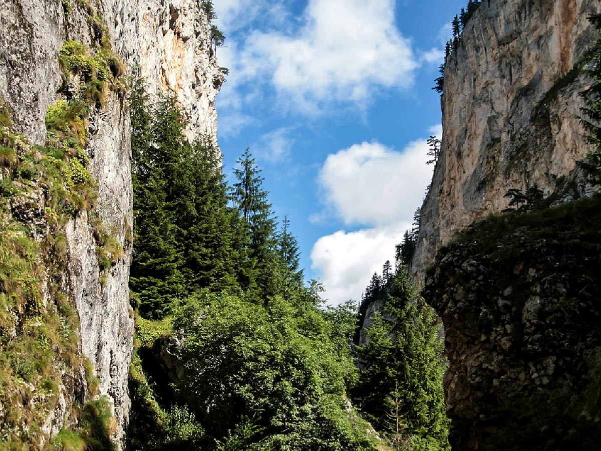 Rhodope Cycling Tour in Bulgaria includes riding through Trigrad Gorge on day 5