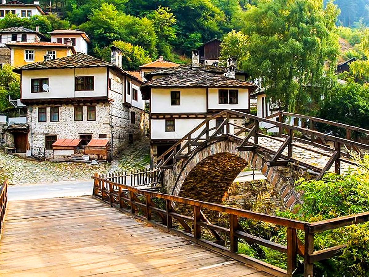 Shiroka luka village on day 7 of Rhodope Mountain Biking Tour