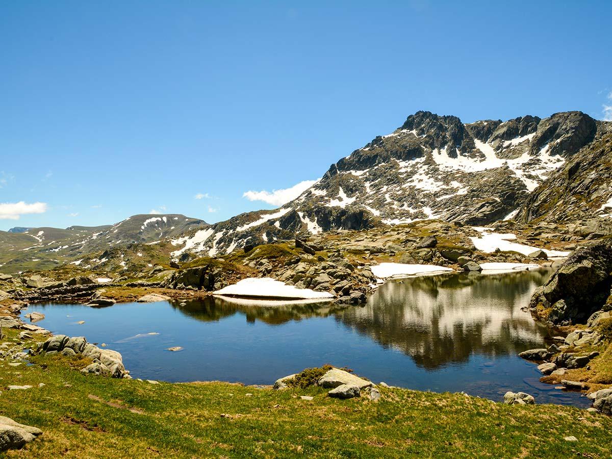 Malyovitsa Range on 2nd day of Rila and Pirin trek in Bulgaria