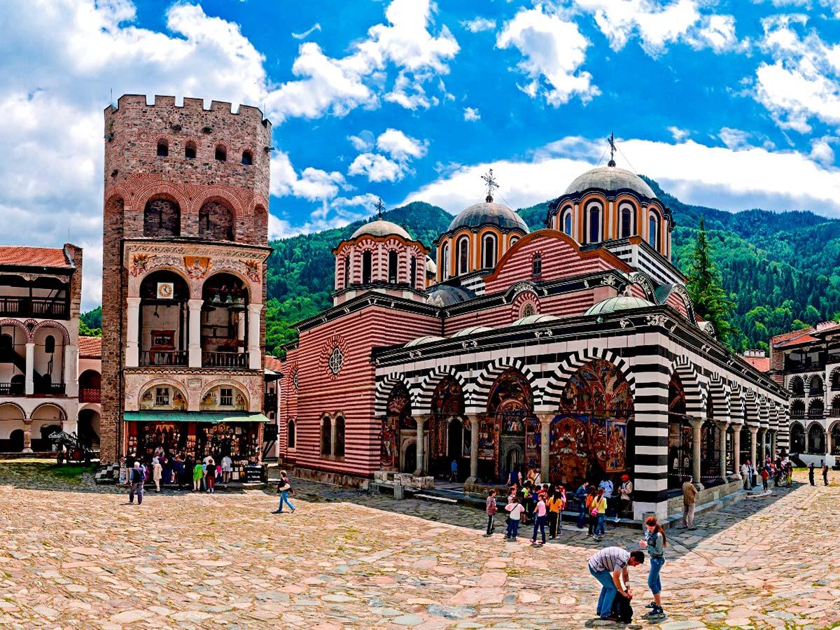 Rila and Pirin Trek in Bulgaria includes visiting Rila monastery on day 3