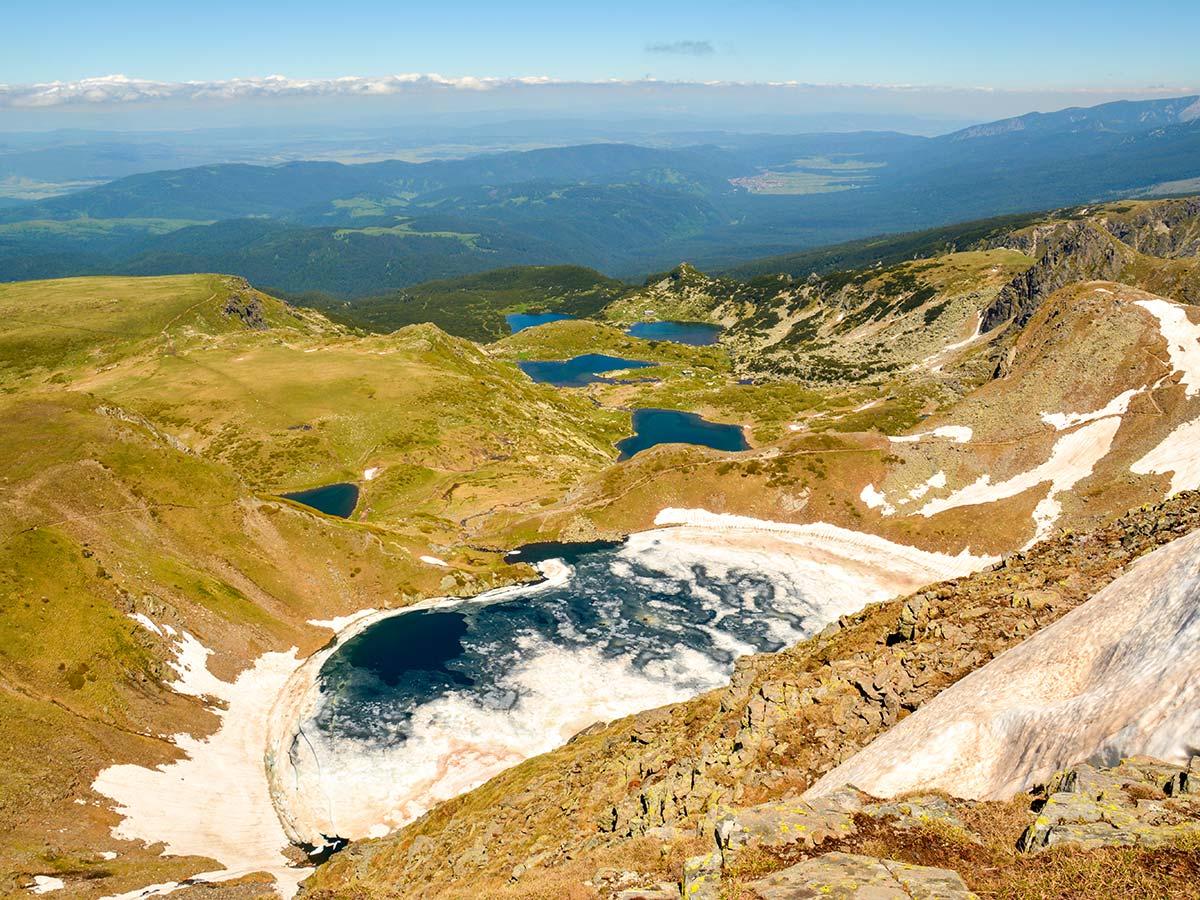 Rila The Seven Lakes from Above on Rila and Pirin Trek in Bulgaria